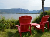 Time to Relax at Western Brook Pond, Gros Morne