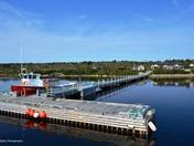 Leaving the Dock, Western Brook Pond, Gros Morne