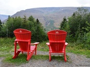 A place to relax at Table Mountains, Gros Morne National Park