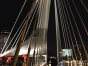 Esplanade Reil pedestrian bridge