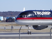 Trump Arrives in Portland, Maine