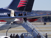 Trump Arrives in Portland, Maine