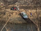 Council Bluffs man drives into Mosquito creek