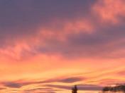 Stunning sunset in great EDH