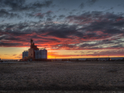 Tonight's Sunset in Saskatchewan