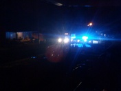 6-8 police cars in Pickens county