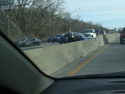 Wreck on I-35 north just past 24hwy