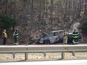 Truck Fire On 128