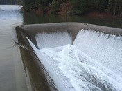 Dam Spillway at Sly Park Lake