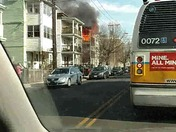 Boston Ave, Medford fire