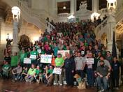 4-H'ers at the Capitol