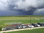 Cloud activity over Gregori