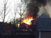 Fire on Wellington Hill