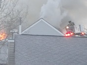 Fire on Wellington Hill Rd