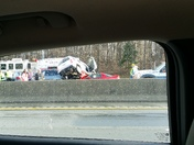 Multiple wreaks on I-40 East and West
