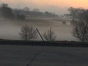 Settling fog