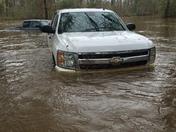 Spring break trip flooding