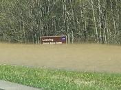 Flooding on I 10 near Ms state line