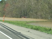 Flooding on I 10 near Ms state line