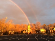 25 Feb Rainbow Over the Curch of teh Ascension in Bowie