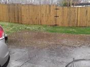 Rural Hall Hail Storm