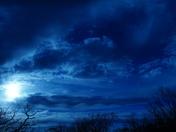 Moonset last night. Sunset tonight