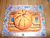 Basketball All Star Cake!