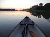 Canoe Ride @ Dusk!