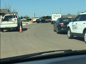 Southwest OKC Carbon Monoxide leak scene