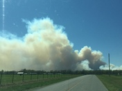 Fires west of Fayetteville!