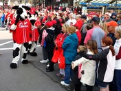 A Cow's Eye View Of Opening Day Parade From Chick-fil-A