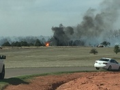 Fire In Mustang OK