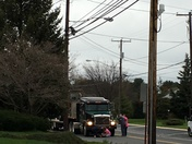 Kids gets hit by a big truck in New Holland