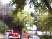mini van caught fire at discovery elementary in deltona