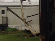 Evening storm damage on April 11 2016