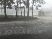 Hail in Brookhaven