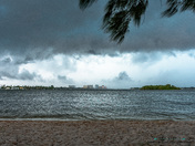Storms from this afternoon, from the causeway