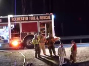 Rt 11 Exit Fatal Roll Over Crash in Rochester