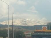 Snow on the Jemez