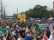 St. Bernard Irish Italian Islenos parade