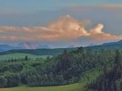Foothills In Alberta.