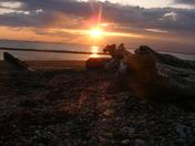 BC Sun set