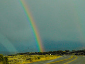 Rainbow in Northern New Mexico