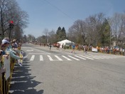 Boston marathon mile 19 smooch