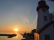 Kincardine's Harbour and Lighthouse