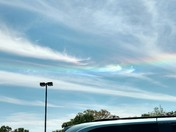 Rainbow cloud