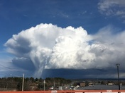 Waterfall Cloud over Waterville