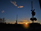 Sun Setting Over New Gloucester