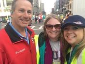 Marathon Volunteering