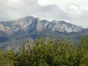 The Sandias from my back yard